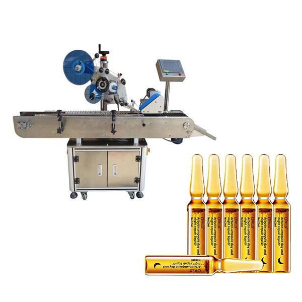 Stroj na označovanie ampuliek