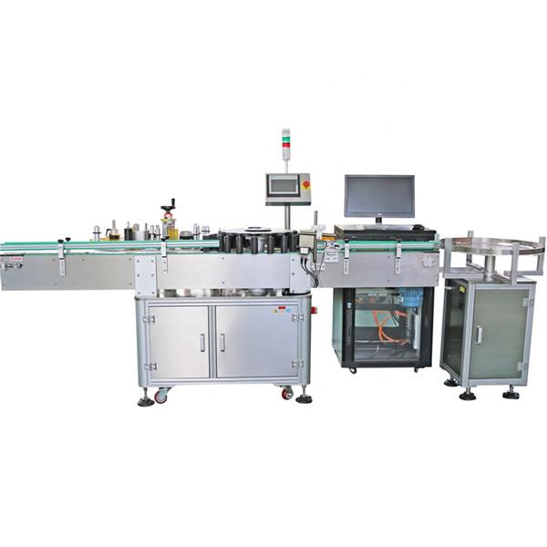 Automatický zákaznícky kužeľovitý fľaškový hrotitý rotačný etiketovací stroj