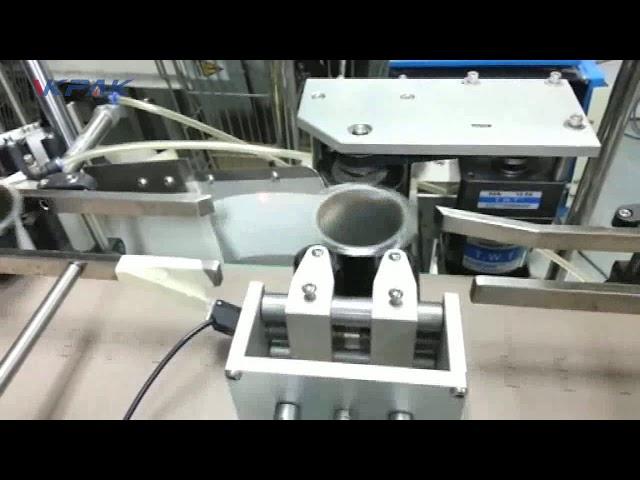 Automatický aplikátor nálepiek na štítky, kužeľový pohár, dvojitý dva alebo jeden štítok