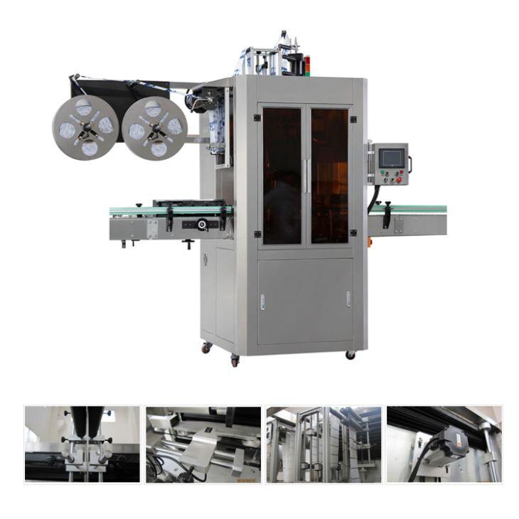 Automatický stroj na označovanie zmršťovania rukávov z tekutého džúsu na čaj