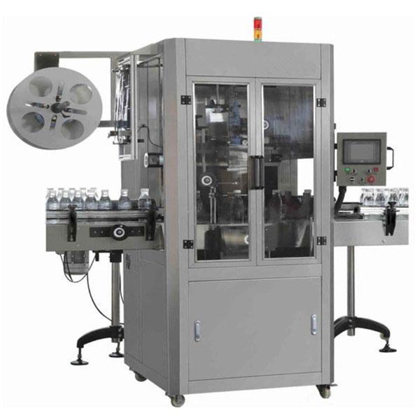 Automatický štítkovací stroj na výrobu plastových fliaš s ovocnou šťavou
