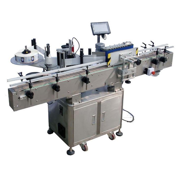 Automatický štítkovací štítkovací stroj na okrúhle fľaše