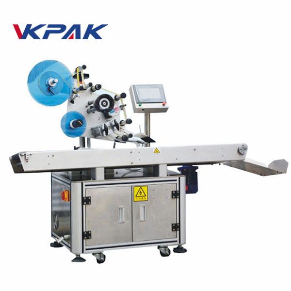 Automatický etiketovací stroj na vyrovnanie lepidla na vrchnej ploche