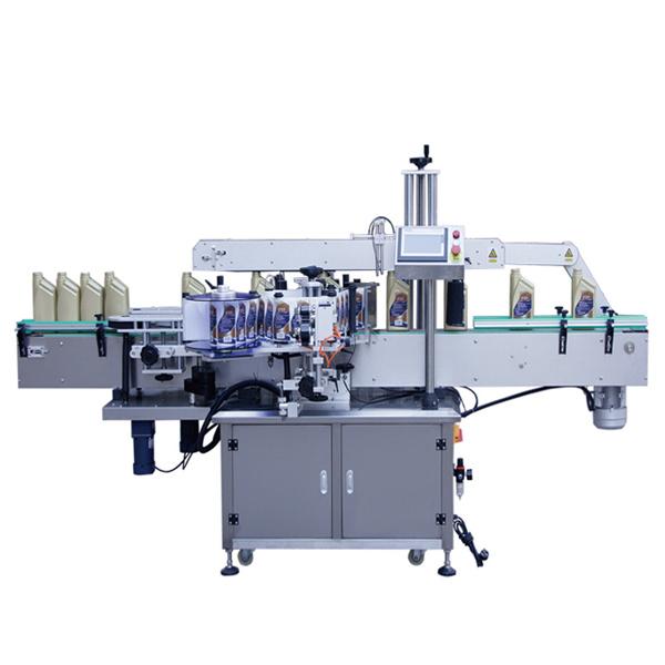 Automatický obojstranný predný a zadný štítkovací štítkovací stroj