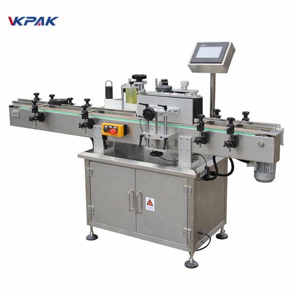 Automatický vertikálny guľatý štítkovací stroj