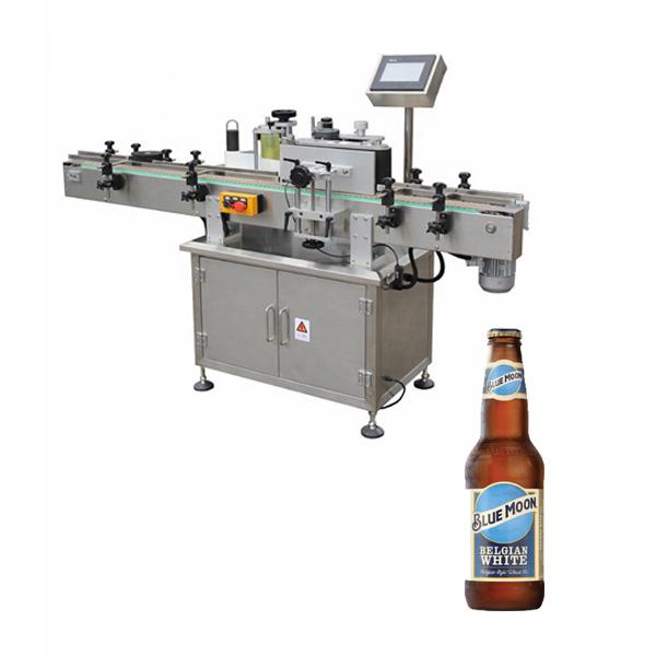 Stroj na označovanie fliaš na pivo
