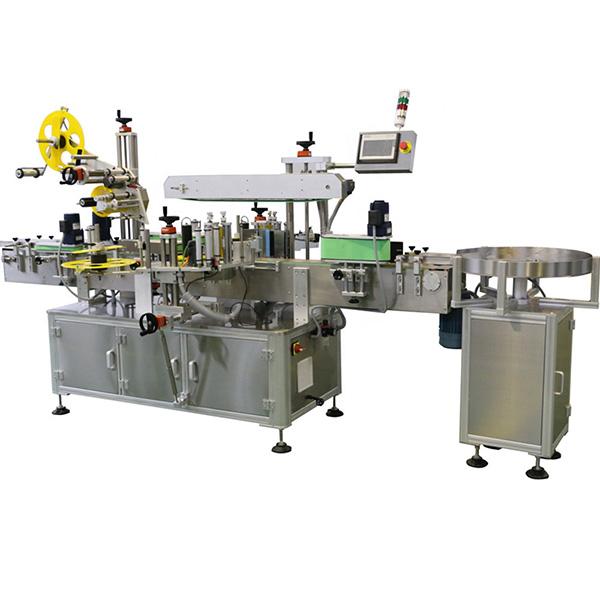 Viacstranový etiketovací stroj na fľašu a telo