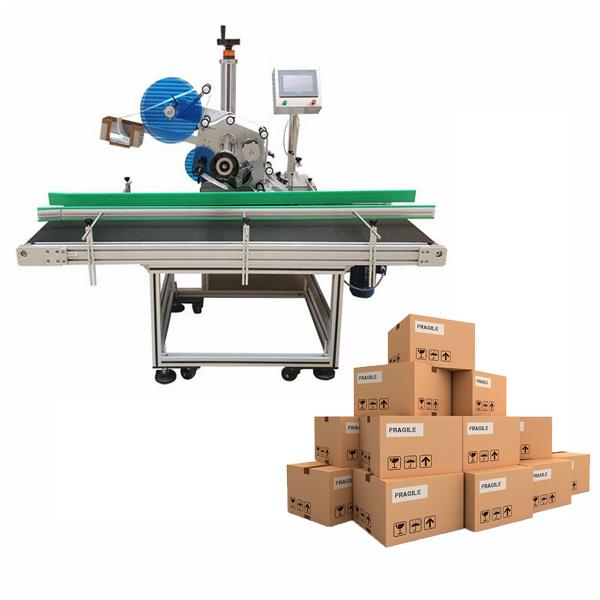 Stroj na označovanie kartónov