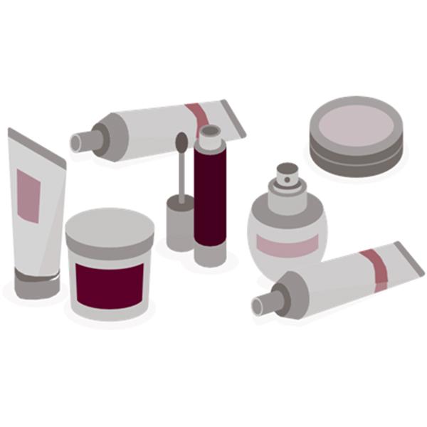 Kozmetické označovacie zariadenia