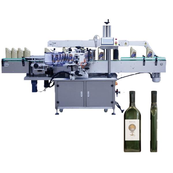 Stroj na označovanie plochých fliaš