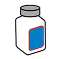 Predný a zadný štítkovač 1