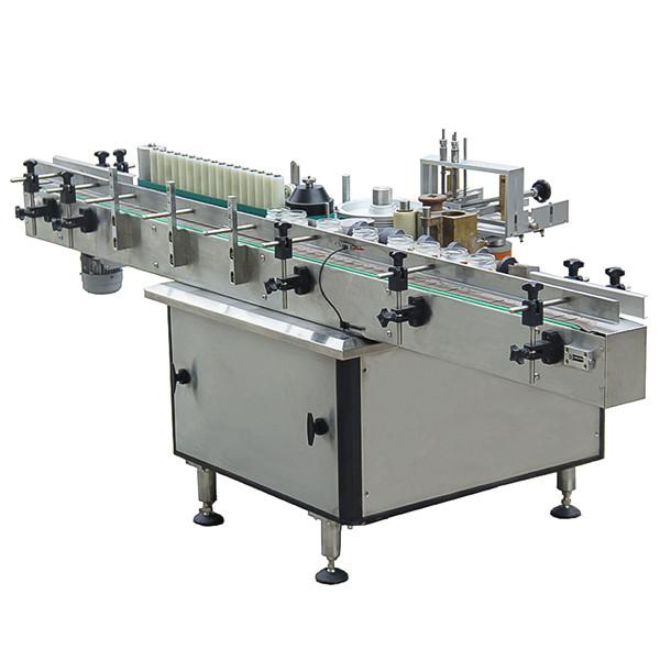 Plne automatický štítkovací stroj na výrobu plastových sklenených fliaš