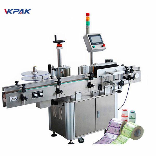 Plnoautomatický vertikálny stroj na označovanie okrúhlych fliaš