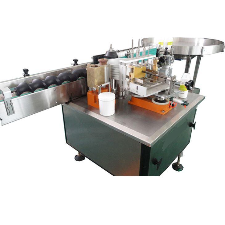 Plnoautomatický stroj na označovanie etikiet na mokrý lepiaci papier na alkoholové výrobky