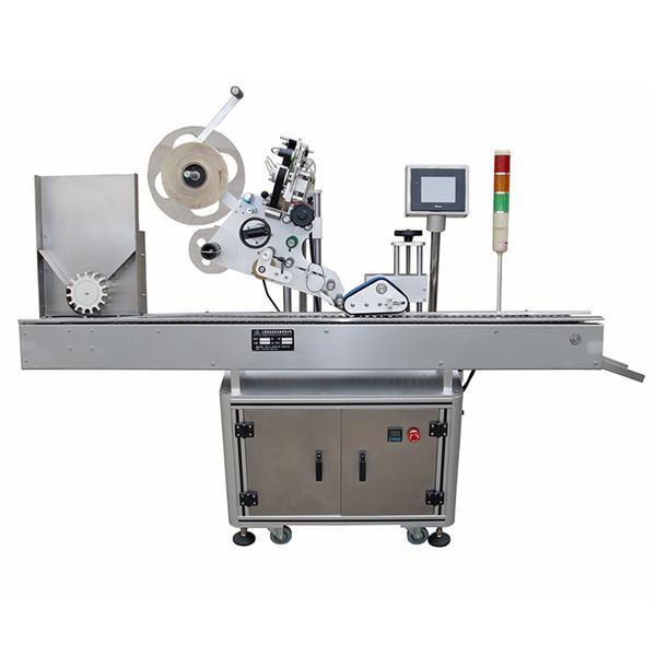 Plne automatický vodorovný striekačkový farmaceutický označovací stroj