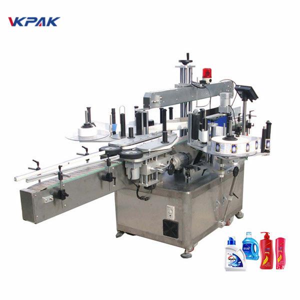 Vysokorýchlostný pneumatický automatický obojstranný stroj na označovanie plochých fliaš