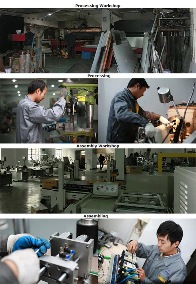 Spracovanie na výrobu etiketovacieho stroja na výrobu plochých fliaš, kartónov a brožúr