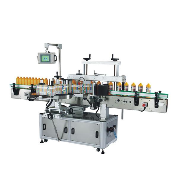 Stroj na označovanie štítkov s okrúhlou fľašou a štítkom na etiketu 100 BPM