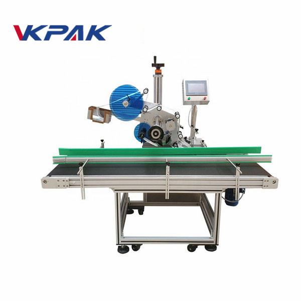 Automatický štítkovací stroj na papier na stieracie karty